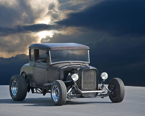 Coupe Poster featuring the photograph 1930 Ford Hiboy Coupe by Dave Koontz