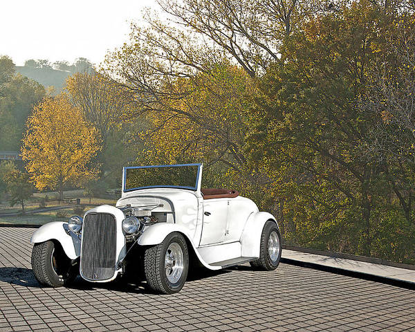 Coupe Poster featuring the photograph 1930 Ford Roadster by Dave Koontz