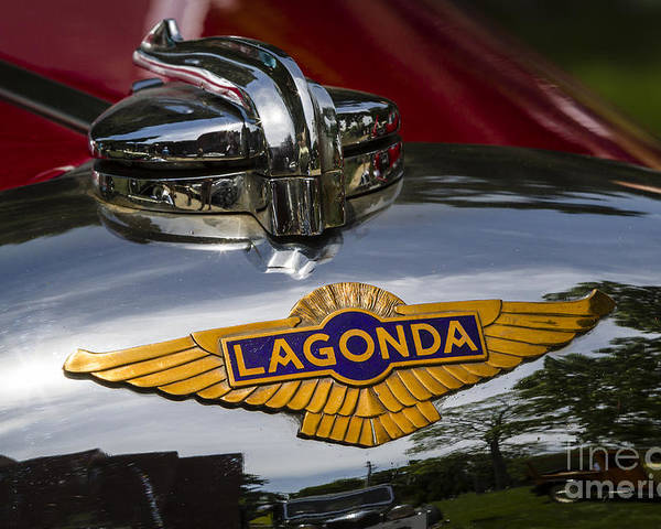 1937 Lagonda Rapide Poster featuring the photograph 1937 Lagonda by Dennis Hedberg