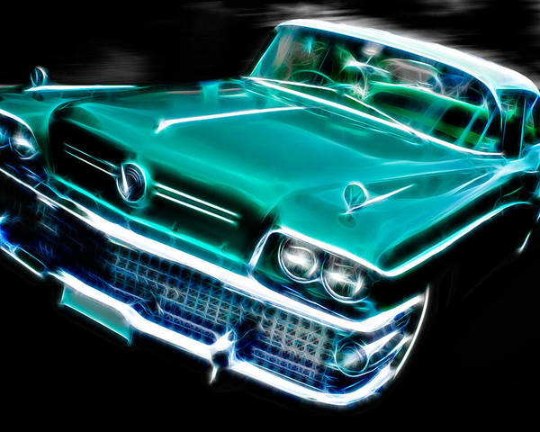Custom Buick Poster featuring the photograph 1958 Buick Special by Phil 'motography' Clark