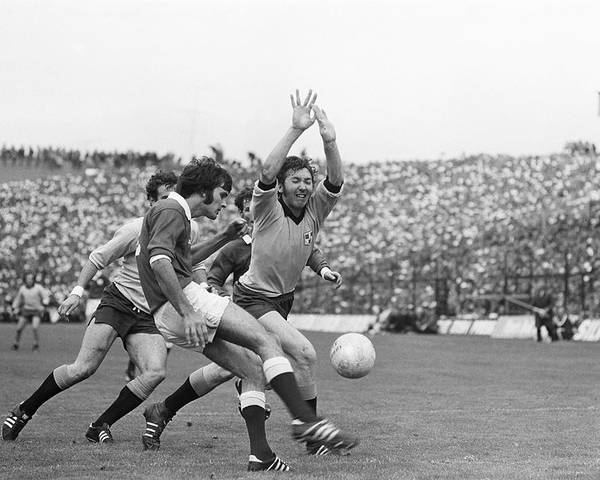 All Ireland Football Final Poster featuring the photograph 1974 All Ireland Football Final by Irish Photo Archive