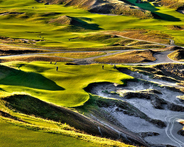 #9 At Chambers Bay Golf Course Poster
