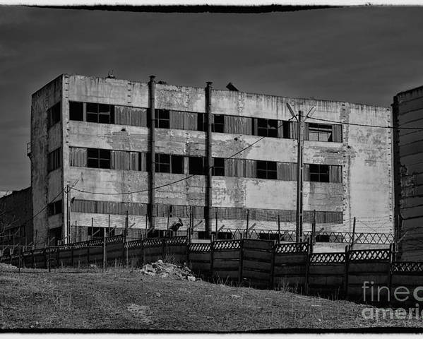 Abandon Poster featuring the photograph Abandoned Factory At Vadu by Gabriela Insuratelu