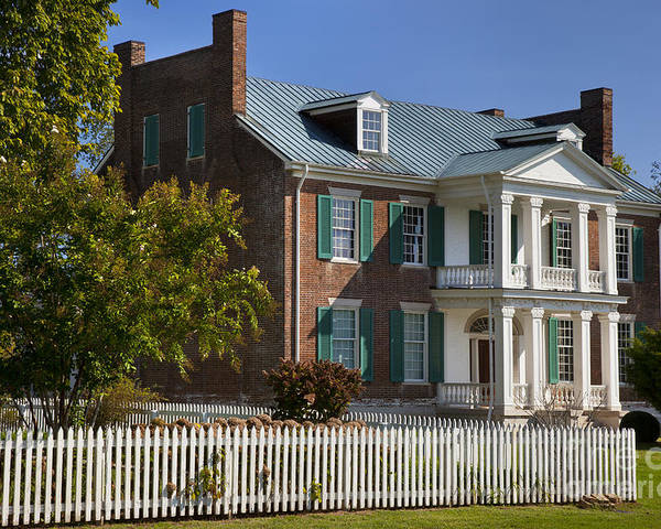 Historic Poster featuring the photograph Carnton Plantation by Brian Jannsen