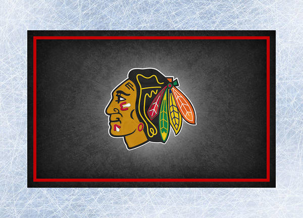 Blackhawks Poster featuring the photograph Chicago Blackhawks by Joe Hamilton