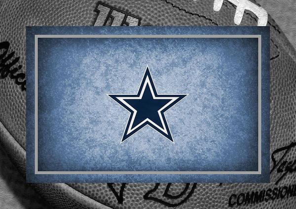 Cowboys Poster featuring the photograph Dallas Cowboys by Joe Hamilton