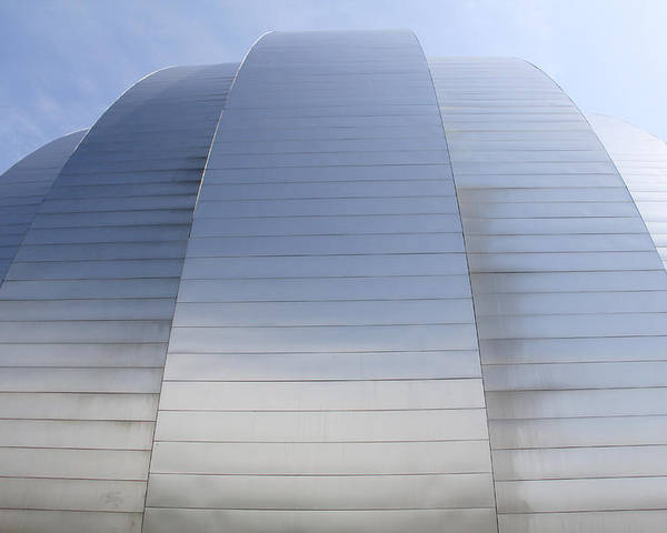 Architecture Poster featuring the photograph Kauffman Center For Performing Arts by Mike McGlothlen