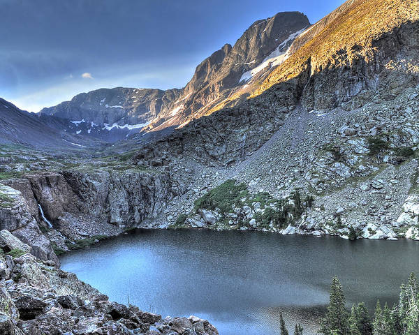 14er Poster featuring the photograph Kit Carson Peak And Willow Lake by Aaron Spong