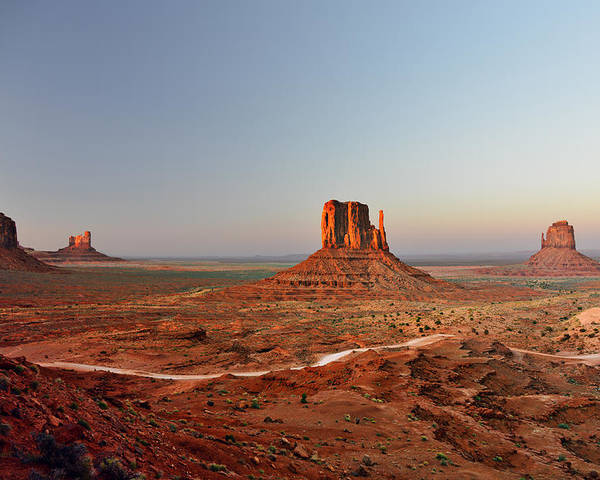 Monument Poster featuring the photograph Monument Valley by Christine Till