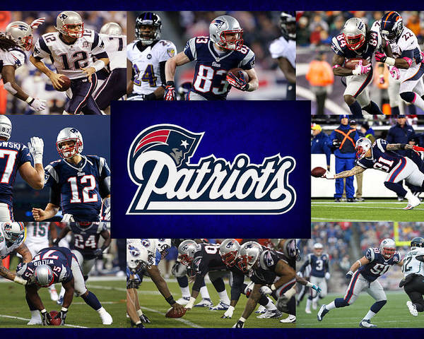 Patriots Poster featuring the photograph New England Patriots by Joe Hamilton