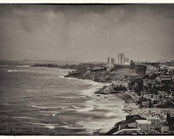 Puerto Rico Poster featuring the photograph Old San Juan by Dado Molina