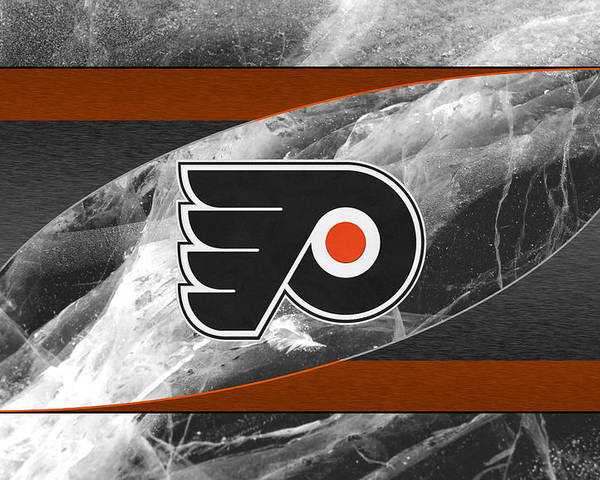 Flyers Poster featuring the photograph Philadelphia Flyers by Joe Hamilton
