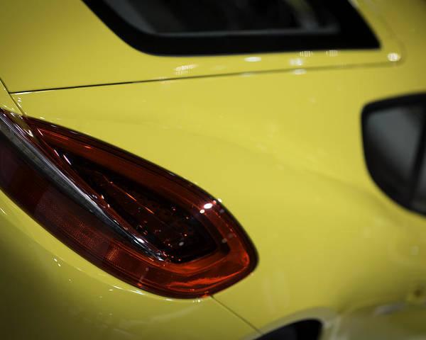 2013 Poster featuring the photograph Porsche Cayman S by Sebastian Musial