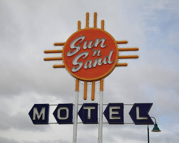 66 Poster featuring the photograph Route 66 - Santa Rosa New Mexico by Frank Romeo