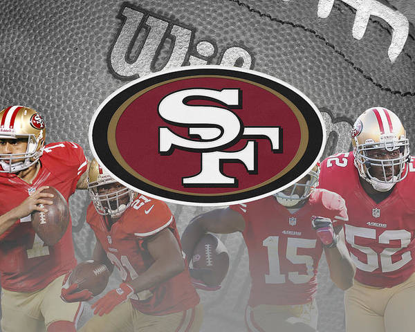 49ers Poster featuring the photograph San Francisco 49ers by Joe Hamilton