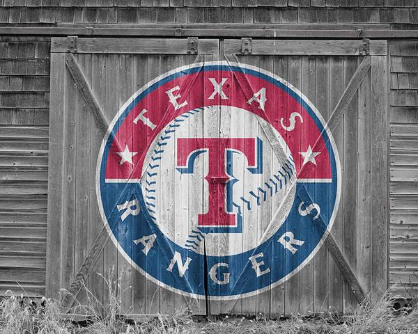 Rangers Poster featuring the photograph Texas Rangers by Joe Hamilton
