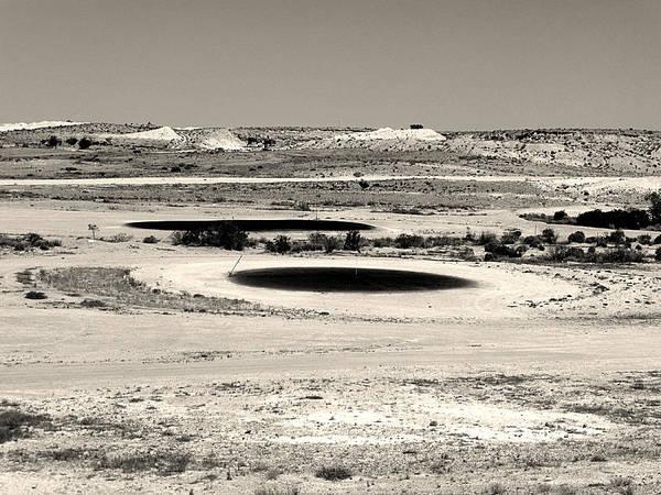 Desert Poster featuring the photograph Desert Golf by Girish J