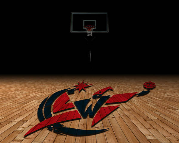 Wizards Poster featuring the photograph Washington Wizards by Joe Hamilton