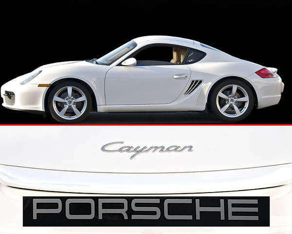 Auto Poster featuring the photograph 2012 Porsche Cayman R by Dave Koontz