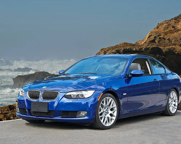 Auto Poster featuring the photograph 2013 Bmw 328i Sports Coupe by Dave Koontz