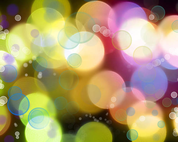 Colorful Poster featuring the photograph Abstract Background by Les Cunliffe