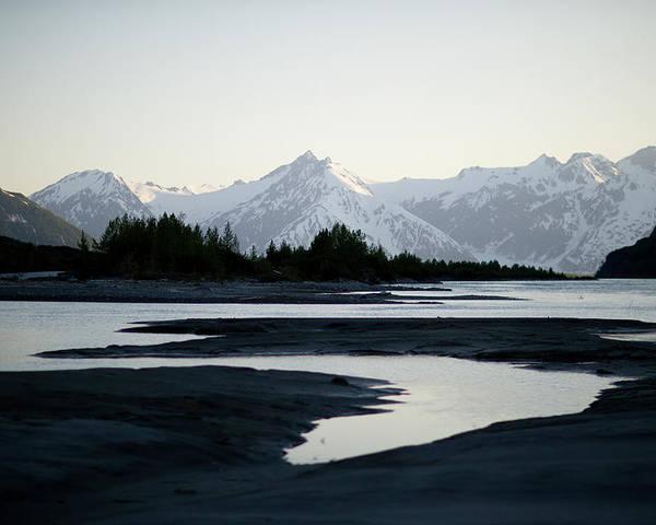 Alaska - Usa State Poster featuring the photograph Alsek River by Glenn Oakley