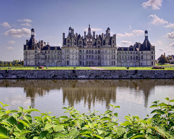 Ages Poster featuring the photograph Chambord Castle by Ioan Panaite