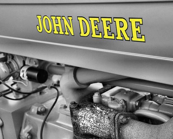 John Deere Poster featuring the photograph John Deere by Dan Sproul