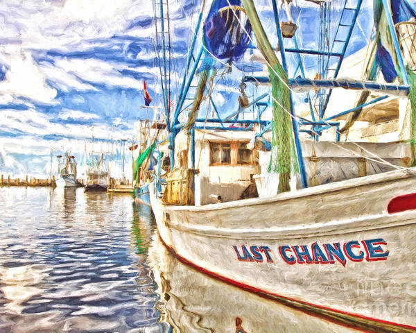 Last Chance Poster featuring the photograph Last Chance - Hdr by Scott Pellegrin
