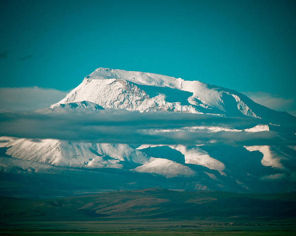 Landscape Poster featuring the photograph Mount Gurla Mandhata by Raimond Klavins