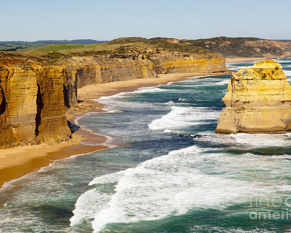 Australia Poster featuring the photograph Twelve Apostles by Tim Hester