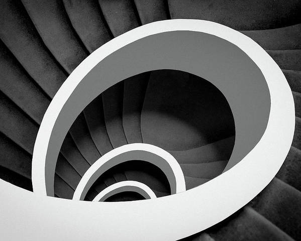 Spiral Poster featuring the photograph Untitled by Inge Schuster