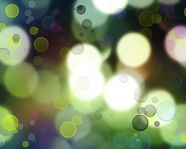 Abstract Poster featuring the photograph Abstract Background by Les Cunliffe