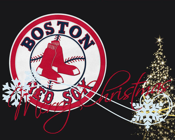Red Sox Poster featuring the photograph Boston Red Sox by Joe Hamilton