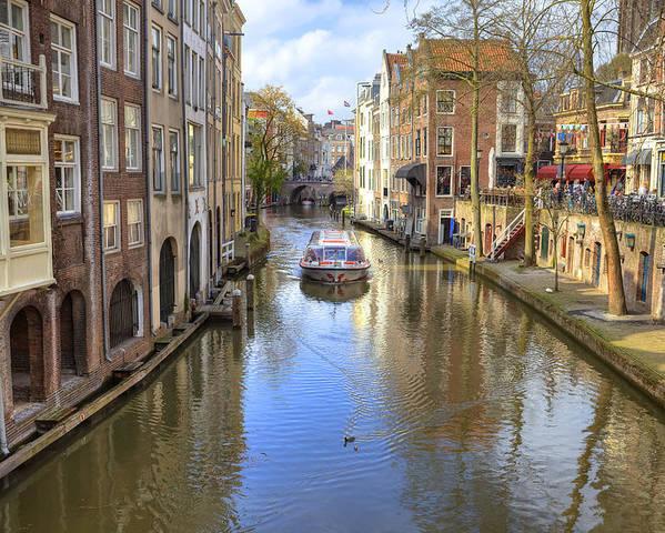 Utrecht Poster featuring the photograph Utrecht by Joana Kruse