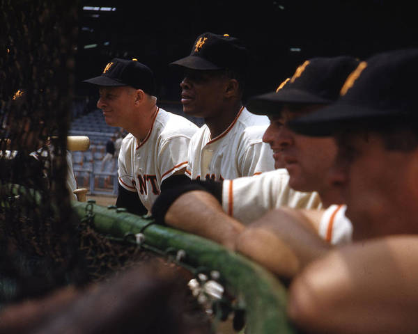 classic Poster featuring the photograph Willie Mays by Retro Images Archive
