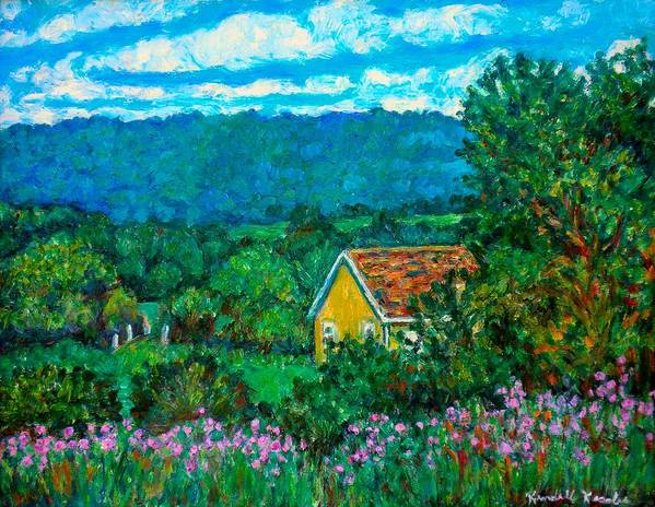 Landscape Poster featuring the painting 460 by Kendall Kessler