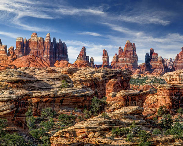 Canyonlands National Park Poster featuring the photograph Canyonlands National Park Utah by Utah Images