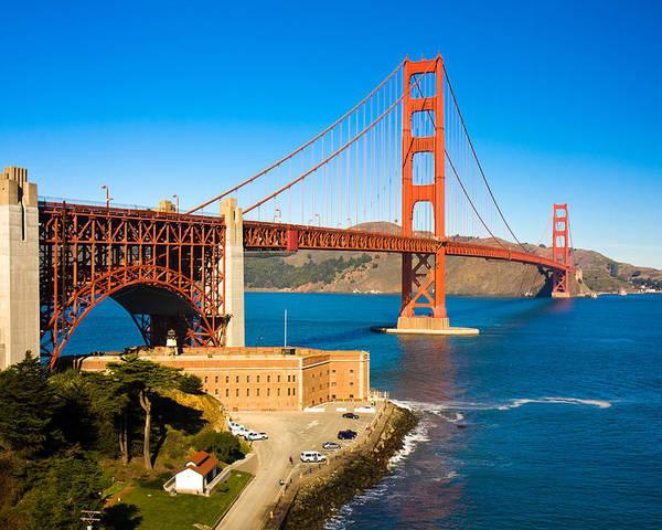Golden Gate Bridge Poster featuring the photograph Golden Gate Bridge by Darren Patterson