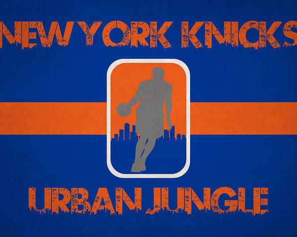 Knicks Poster featuring the photograph New York Knicks by Joe Hamilton