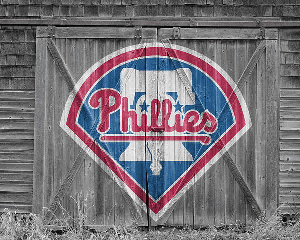 Phillies Poster featuring the photograph Philadelphia Phillies by Joe Hamilton