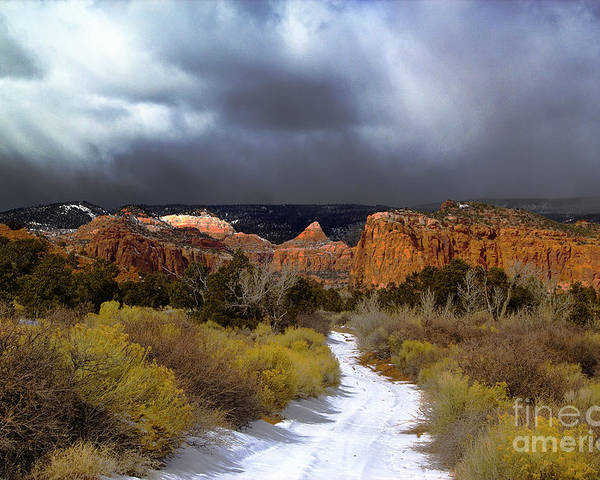 Capitol Reef National Park Poster featuring the photograph Capitol Reef National Park by Southern Utah Photography