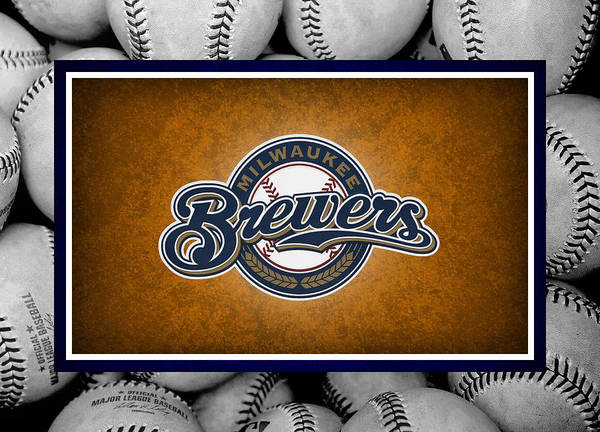 Brewers Poster featuring the photograph Milwaukee Brewers by Joe Hamilton