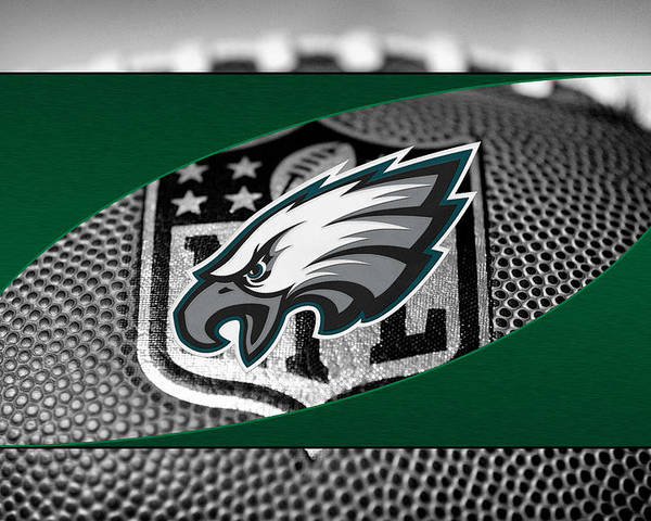 Eagles Poster featuring the photograph Philadelphia Eagles by Joe Hamilton