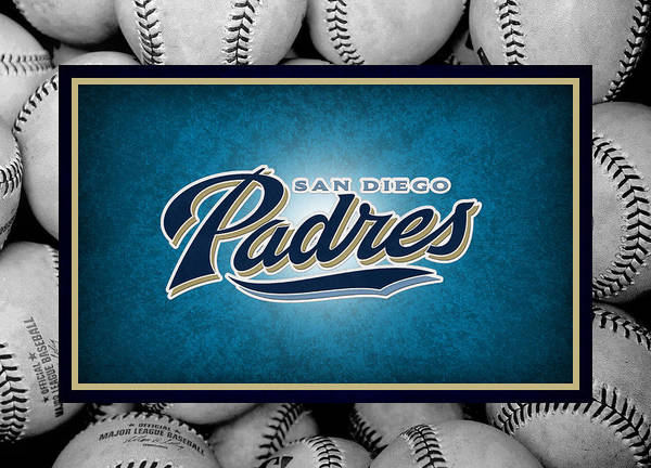Padres Poster featuring the photograph San Diego Padres by Joe Hamilton