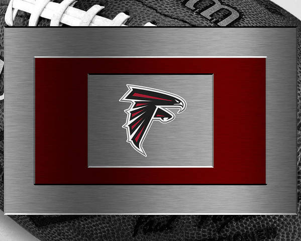 Falcons Poster featuring the photograph Atlanta Falcons by Joe Hamilton
