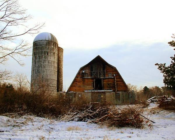 Cape Cod Poster featuring the photograph Abandoned Farm 2 by MPG Artworks