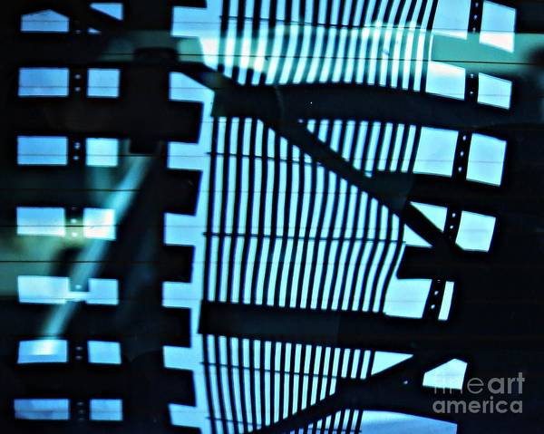 Abstract Poster featuring the photograph Abstract Reflection 13 by Sarah Loft
