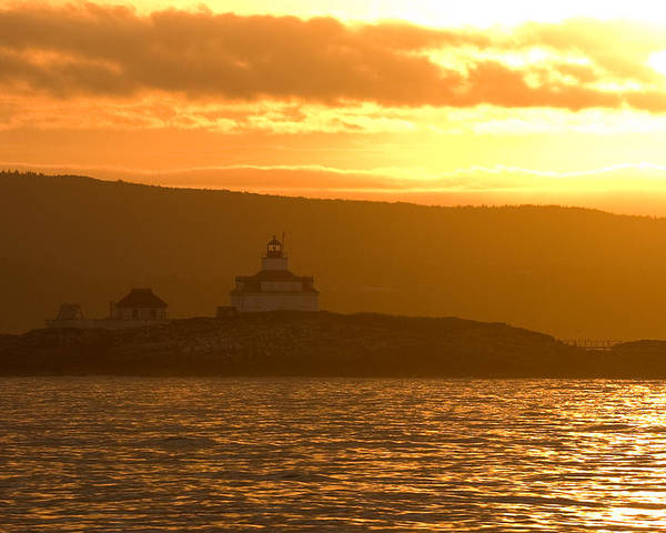Acadia National Park Poster featuring the photograph Acadia Lighthouse by Sebastian Musial