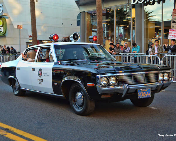 1972 Amc Matador Poster featuring the photograph Adam 12 by Tommy Anderson